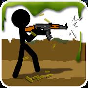 Stickman And Gun – данная игра представляет собой непосредственное продолжение известнейшей серии браузерных игр, повествующей о маленьких человечках – Стикманов. Тут вам предстоит взять на себя управление одним из таких героев, которому придется всячески отбиваться от своих врагов, используя различные виды оружия, и приемы рукопашного боя. Сама игра представлена в виде динамичного и очень сложного экшен-платформера с видом сбоку. Благодаря использованию двухмерной графики, геймплей тут получился безумно динамичным и захватывающим, поэтому вы не сможете здесь остановиться даже на секунду. Отдельно стоит отметить огромнейшее разнообразие врагов, среди которых вы встретите простых мобов и монстров колоссальных размеров. Схватка с каждым из них станет настоящим испытанием, поэтому попробуйте проверить свои настоящие силы, навыки и железный характер.